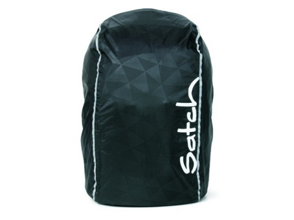 Regenschutz Ergobag Regencape für alle Satch Modelle schwarz