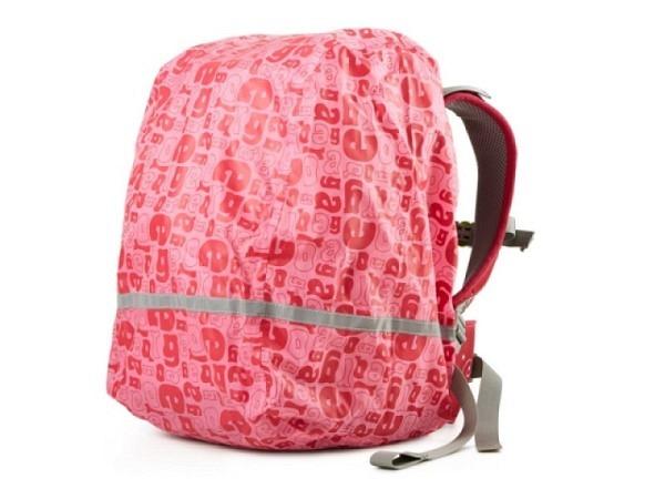 Regenschutz Ergobag Ergolino Regencape pink