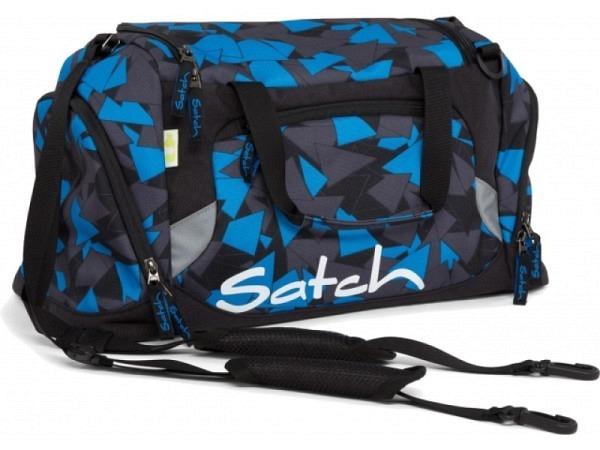 Sporttasche Satch Blue Triangle 50x25x25cm 25Liter