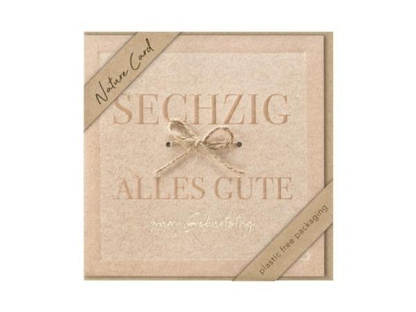Geburtstagskarte Art Bula 12,2x17,5cm vier Bilder Marienkäfer