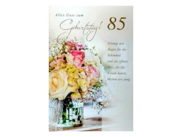 Geburtstagskarte ABC 30 Zahlengeburtstag Marienkäfer