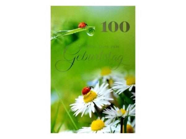 Geburtstagskarte ABC 30 Zahlengeburtstag Margerite