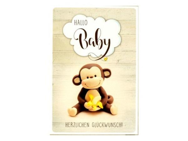 Ereigniskarte ABC Baby-Füsse 12,5x17,5cm