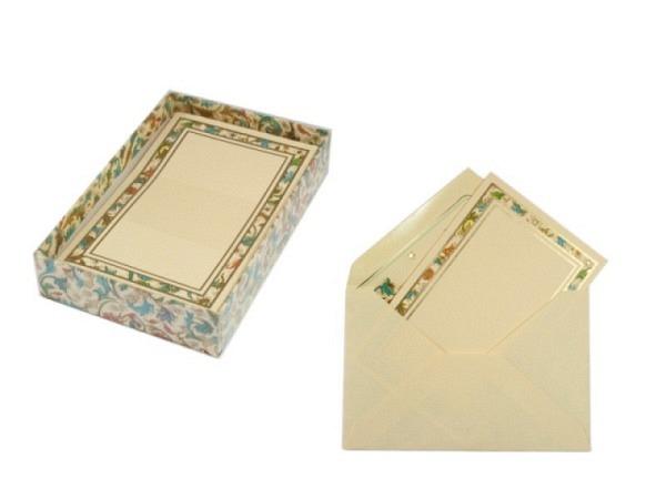 Briefpapier Kartos Medicea 9x14cm 10Stk. Hochdoppelt