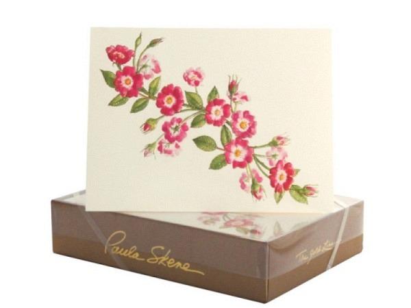 Karte Paula Skene Rose Vine 8er Set 12,5x17cm