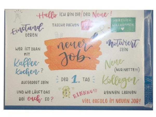 Dankeskarte Borer Danke grün 11,5x17cm