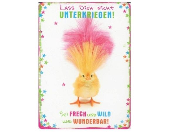 Doppelkarte Hartung SpotLight Lache und die Welt lacht mit..