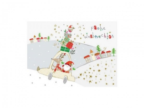 Postkarte Turnowsky Weihnachten Merry Christmas