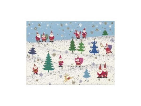 Postkarte Turnowsky Weihnachten Geschenke verteilen