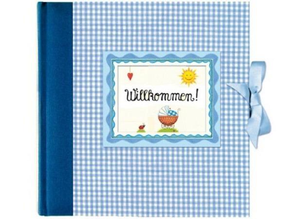 Fotoalbum Coppenrath Willkommen blau Babyalbum