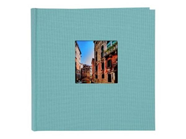 Fotoalbum Goldbuch Bella Vista Einsteckalbum grün Leinen