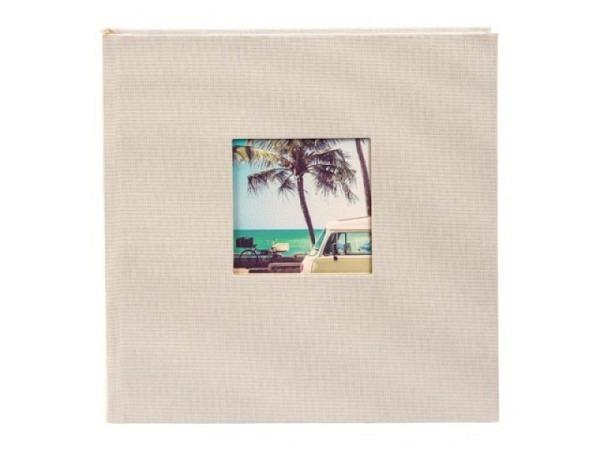 Fotoalbum Goldbuch Bella Vista Einsteckalbum orange Leinen