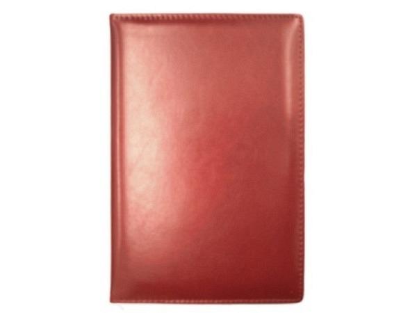 Tagebuch ASL Cardiff Rindleder rot für 5 Jahren, 1 Tag pro Seite 14x21cm