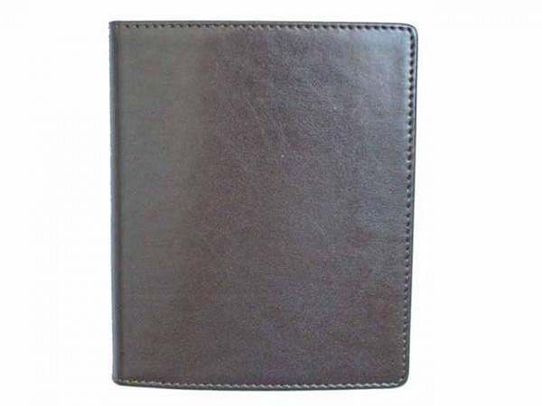 Tagebuch ASL Cardiff Rindleder braun für 3 Jahre, 1 Tag pro Seite 11x14cm