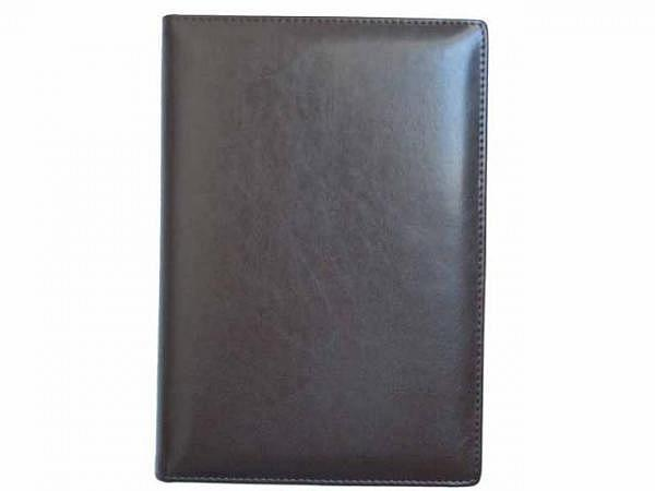 Tagebuch ASL Cardiff Rindleder braun für 5 Jahre, 1 Tag pro Seite 11x14cm