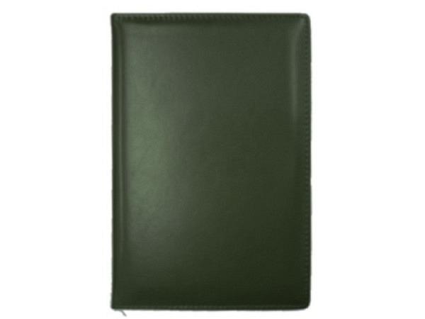 Tagebuch ASL Cardiff Rindleder grün für 5 Jahre, 1 Tag pro Seite 14x21cm