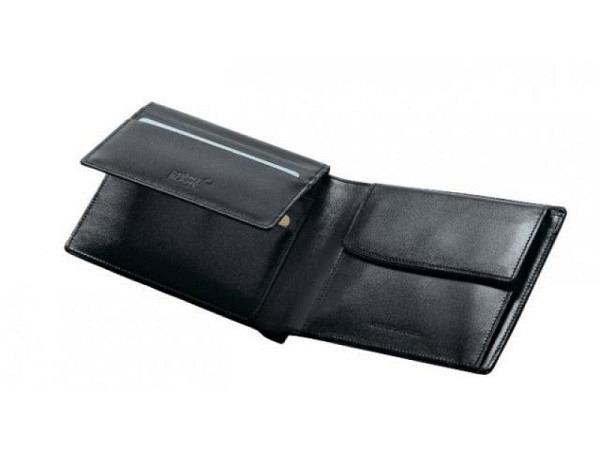 Portemonnaie Montblanc Meisterstück schwarz, Masse: 9,5x11,5cm