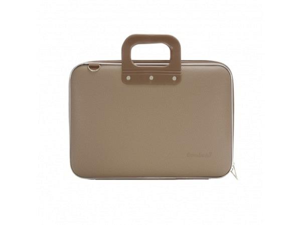Tasche Bombata Classic Taupe Laptoptasche