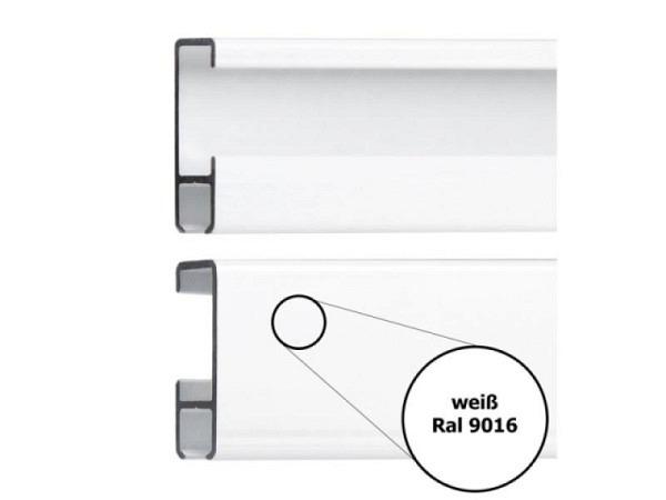 Bilderschiene Classic 8,5x23mm weiss 200cm lang