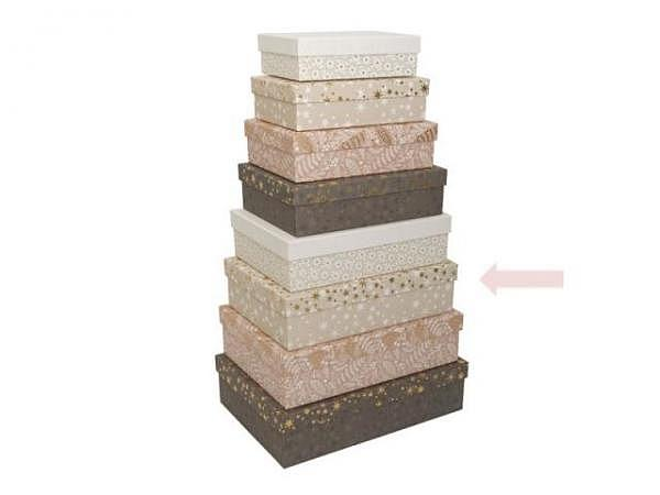 Geschenkschachtel Artebene Finest Stripes 20x13,5x5,5cm