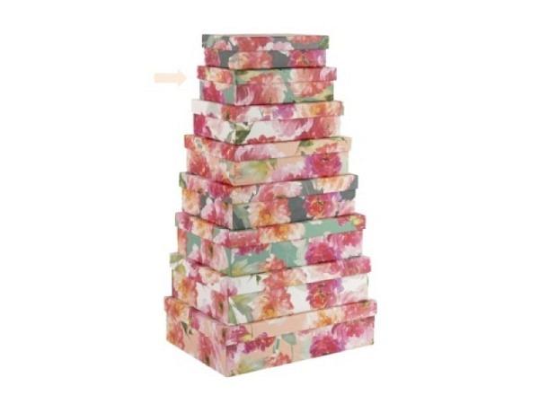 Geschenkschachtel Artebene Finest Dost rosa 26x18,5cm<br>
