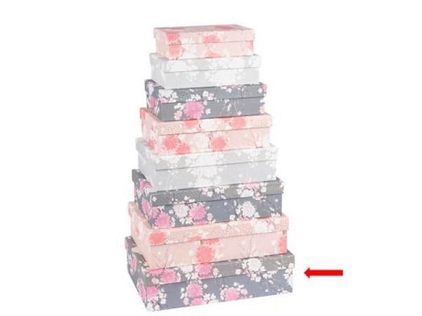 Geschenkschachtel Artebene Finest Stripes 32x22,5cm<br>