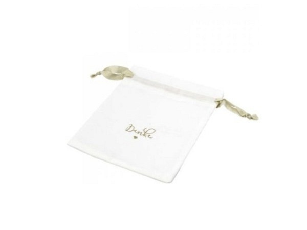 Flaschentasche Stewo Alina weiss 12x8x37cm, weisse Tasche mit vielen bunten Geschenken und Ballonen, Traggriffe aus Papier