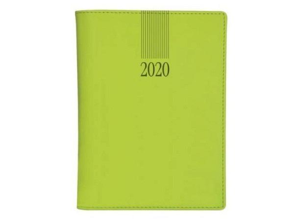 Agenda Biella Memento Wire-O hellgrün, 7 Tage auf 2 Seiten
