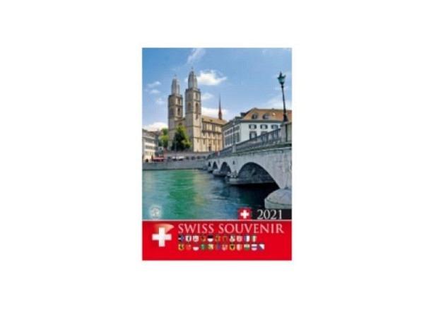 Kalender Swiss Souvenir Titelblatt Basel 2018, 16x21cm
