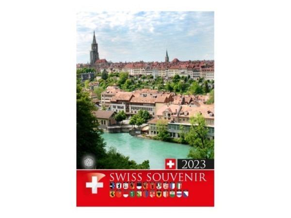 Kalender Swiss Souvenir Titelblatt Bern 2018, 16x21cm