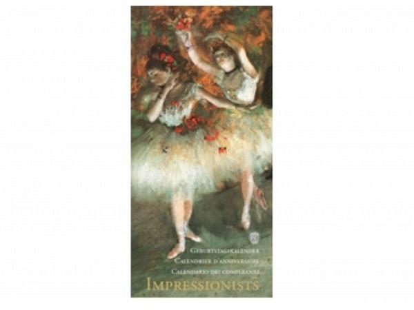 Geburtstagskalender Alfa Kartos Impressionists