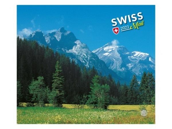 Kalender Swiss Mail 2018, 30x20cm, trennbare Postkarten