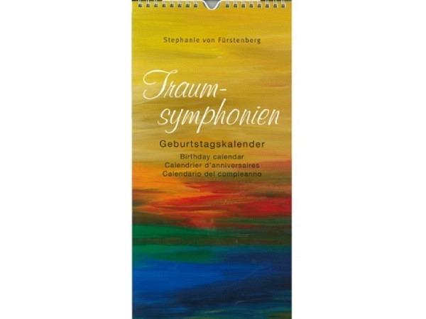 Geburtstagskalender Reiter Kunstverlag Traumsymnphonien von Stephanie von Fürstenberg