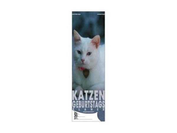 Geburtstagskalender Haschemi Katzen, 18x46cm