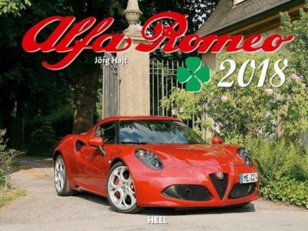 Kalender Alfa Romeo 2017, 47,5x33cm