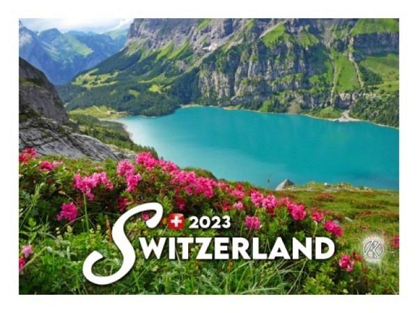 Kalender Swiss Souvenir 2018, 17x15cm, Verlag Alfa Kartos