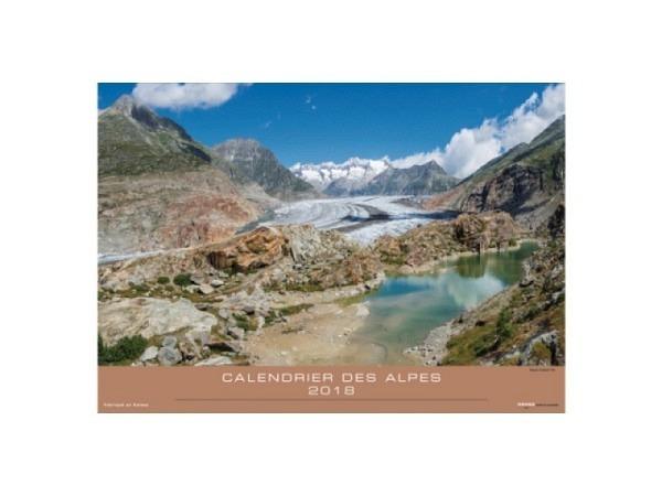 Kalender Alpenkalender 2017, 48x34cm