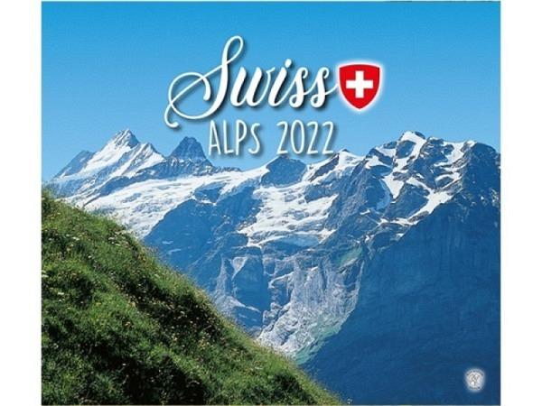 Kalender Swiss Alps 1 2018, 30x34cm, Verlag Alfa Kartos