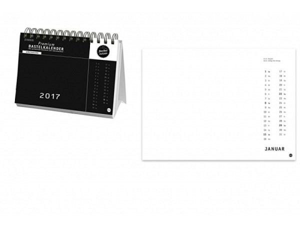 Bastelkalender Heye Tischaufsteller 2017, 24x17,5cm