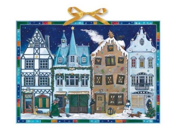 Adventskalender Coppenrath In der Weihnachtsstrasse 38x52cm