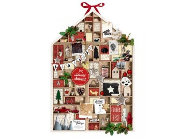Adventskalender Backzauber im Advent, 24 Kärtchen mit Weihnachtlichen Rezepten