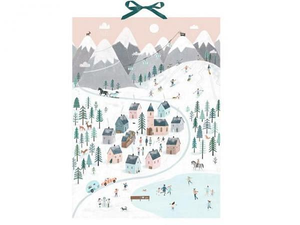 Adventskalender Coppenrath Engelchen im Schnee 38x52cm