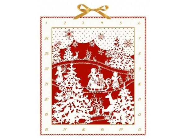 Adventskalender Coppenrath Weihnachtlicher Scherenschnitt
