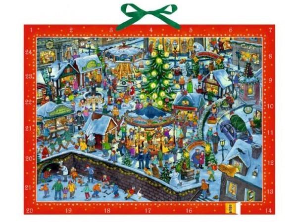 Adventskalender Coppenrath Wimmeliger Weihnachtsmarkt