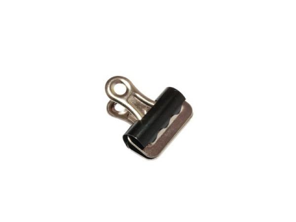Aktenklammer Bulldog 25mm, Metall, gute Klemmkraft
