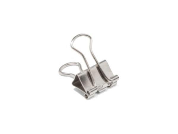 Aktenklammer Foldback chrom 13mm Klemmbreite