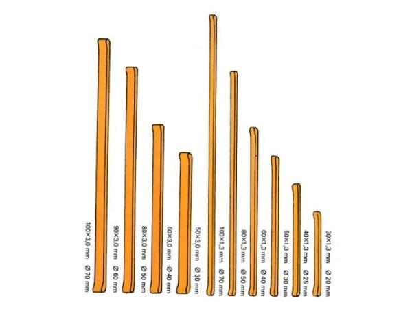 Gummibänder Büroline 100x3mm D:70mm 100g
