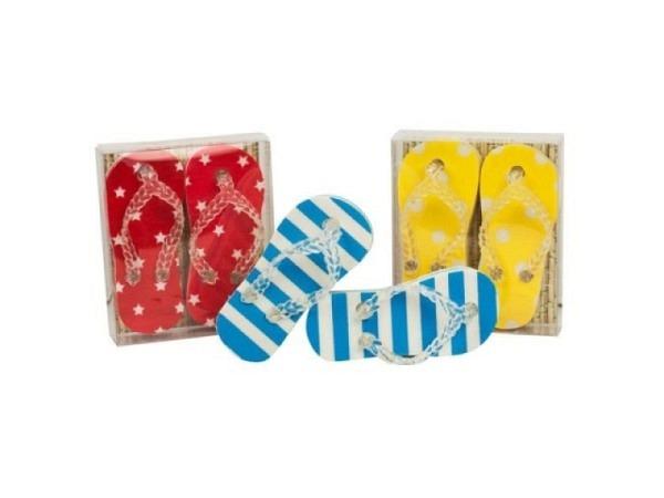 Radiergummi Collection Flip-flop 2er Set, farbig sortiert
