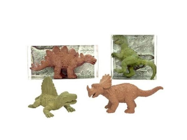 Radiergummi Collection Dinosaurier, 8 verschiedene Sujet, verpackt