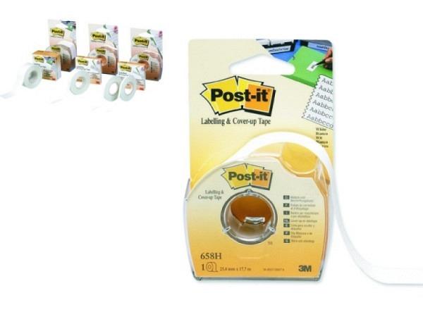 Korrekturband Post-it 4,2mmx18m mit Handdispenser, ideal für das vorübergehende oder dauerhafte Besc